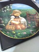 "M J Hummel Collector Plate - ""Favorite Pet"" from Gentle Friends - $9.15"