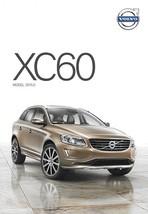 2015.5 Volvo XC60 sales brochure catalog folder US T5 T6 AWD R-Design - $7.00