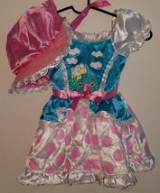 Little Bo Peep Dress Hat 3-4T Sheep Halloween Costume Dress Up SPOTS - A... - $22.20