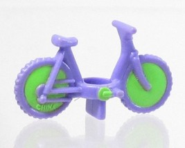 1994 Vintage Polly Pocket Doll Polly on the Go - Bicycle Bluebird - $7.50