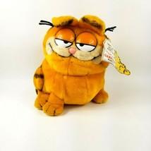 "Vintage Garfield Take Me Home Feed Me w/ Tag Dakin 1981 10"" Plush Stuffe... - $28.53"