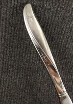 "Oneida Twin Star Set of 3 Salad Forks 6 1/4"" Atomic Star Mid Century Modern - $12.95"