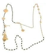 Collar Largo 90cm, Plata 925 , Mary, Sombrero, Paraguas, Estrellas, Le F... - $266.38