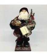 "Spirit Of Santa Collection Doll St. Nicholas Square- North Lodge Santa 18"" - $37.39"