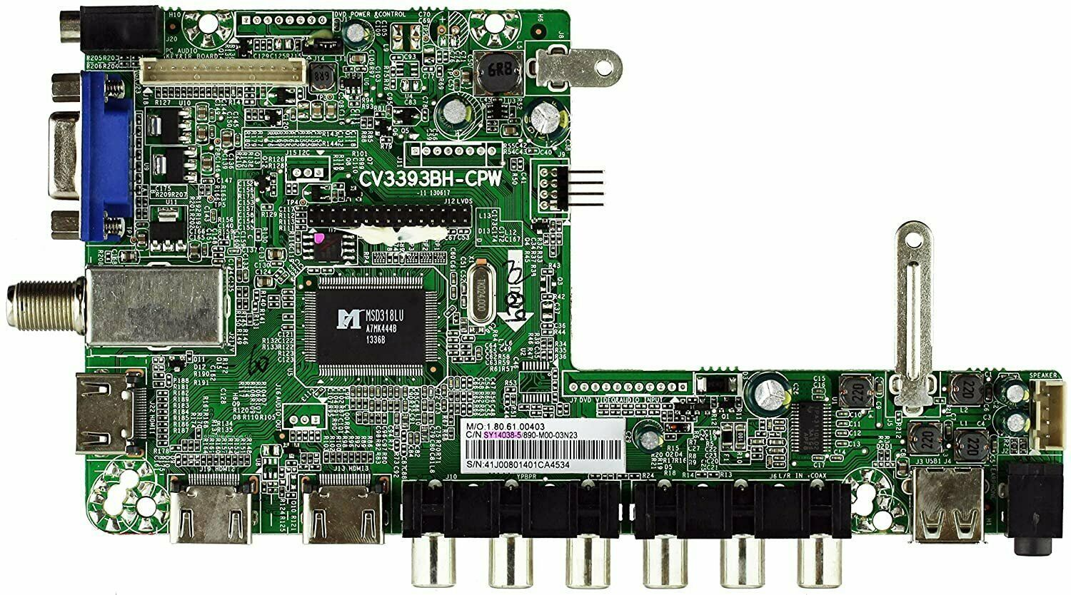 Primary image for Element SY14038-5 / SY14038-2 Main Board for ELEFW408 (See Note)