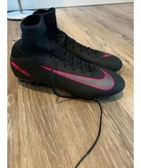Nike JR Mercurial Superfly V 5 FG Firm Ground Cleat Youth Sz 5Y 831943 006 - $49.88