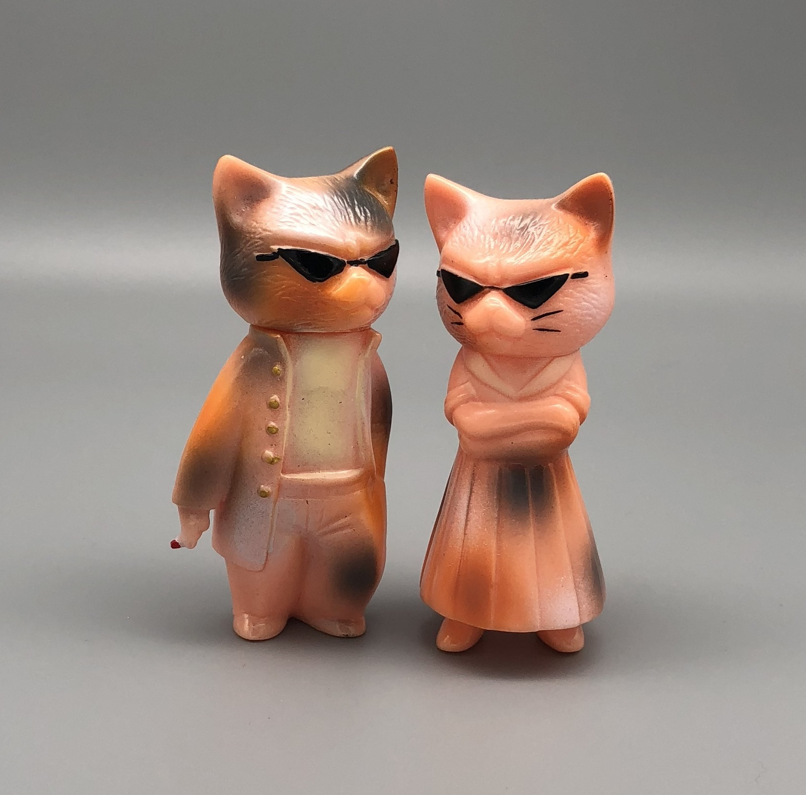 Y&G x One-Up Calico Cats