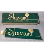Vintage McKesson's Shavami Brushless Shaving Cream Tube and Box 4.75 oz - $19.95