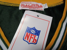 BRETT FAVRE / HALL OF FAME / AUTOGRAPHED GREEN BAY PACKERS THROWBACK JERSEY COA image 5