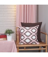 Set Of 4 Cushion Covers 18x18 New Living Series Decorative Throw Pillow ... - $28.04