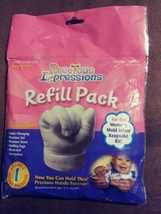 Precious Impressions Refill Pack 0-6 Months Infant Memory Mold 3D Keepsa... - $14.94