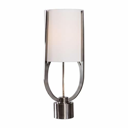 Uttermost Centino Brushed Nickel Buffet Table Lamp