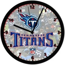 Tennessee Titans logo, Exclusive 8in. Unique Homemade Wall Clock, Batter... - $23.97
