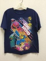 Disney Store Boys Sz S Shirt Black Graphic Short Sleeve Big Hero 6 T-Shirt - $9.89