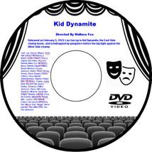 Kid Dynamite 1943 DVD Movie Hardcore punk Leo Gorcey Huntz Hall Bobby Jo... - $3.99
