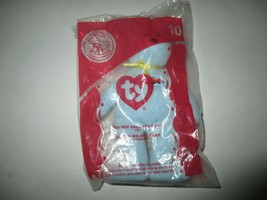 New McDonalds 2004 TY #10 Big Red Shoe Bear - $3.00