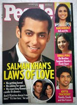 People 25 Sep 2009 Salman Khan Rani Mukerji Arjun Aditya Edward Kennedy ... - $4.99