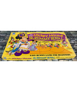 Mickey Mouse Jr. Rummy Royal Board Game Disney Whitman COMPLETE Age 7+ 2... - $29.69