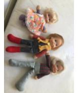 Vintage 1975 Honey Bunch Hill Mattel Dolls - $49.74