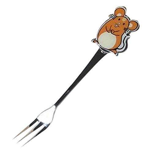 Panda Superstore 3 Pcs Children Stainless Cartoon Mouse Tableware Cutlery Fork F