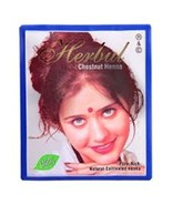 Herbul Henna Hair Color Chestnut Henna Pure Rich Natural Product 6x10g - $5.99