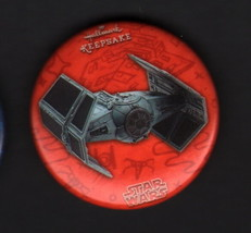 Hallmark 2017 SDCC San Diego Comic Con Exclusive Button Pin Star Wars VA... - $7.91