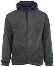 LAX Men's Premium Water Resistant Security Reversible Jacket With Removable Hood image 10
