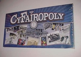 Cy-Fairopoly Board Game Cypress Fairbanks I.S.D. 75th Years Texas 2014 New NIB - $173.25