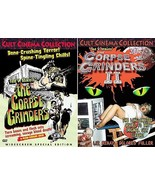 CORPSE GRINDERS 1-2-3: Ted V Mikel Classics-  Killer Cats & More - NEW 3... - $29.99