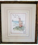 Rosina Emmet, Hand Painted Lithograph 'The Sailor Las',  - $65.00