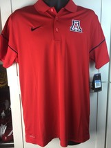 ARIZONA WILDCATS POLO SHIRT- NIKE ON FIELD PERFORMANCE-MEDIUM-NWT-$60 RE... - $39.99