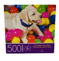 Little Puppy in Pool of Balls ~ 500 Pcs - Jigsaw Puzzle ~ New - $4.55