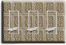 Celtic Trinity Knot Irish Design Triple Gfci Light Switch Wall Plate Room Decor - $19.99