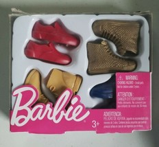 Barbie Ken Boots and Shoes Pack  Accessories Mattel Factory Sealed - Fre... - $7.99