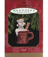 1997 New in Box - Hallmark Keepsake Christmas Ornament - Dad - $1.97