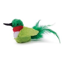 OurPets Play-N-Squeak Real Birds Buzz Off Interactive Cat Toy - $8.43