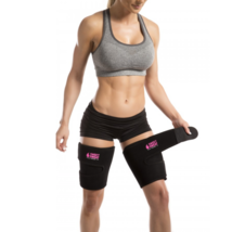 Sports Research Sweet Sweat Thigh Trimmers (Color: Pink)(Size: Medium) image 2