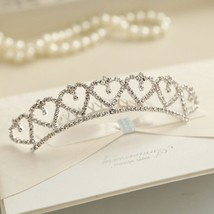 Shining Rhinestone Crystal tiaras crowns Jewelry wedding prom Children g... - £6.82 GBP