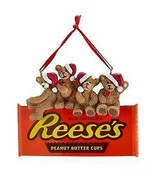 Hershey's™ Bears On Reese's Chocolate Ornament w - $13.99