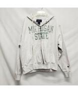 Champion Michigan State Zip Up Hoodie  Women Size Medium  - $34.30