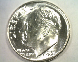 1951 ROOSEVELT DIME GEM NICE ORIGINAL COIN FROM BOBS COINS FAST SHIPMENT - $14.00
