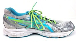 Asics Womens Gel Contend 2 Running Shoes Size 9.5 Sneakers T474N Silver Teal image 2