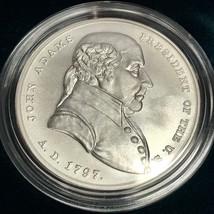 United States Mint John Adams Presidential Silver Medals Programs - $53.89