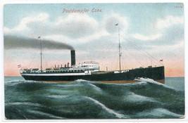 Steamer Esne Postdampfer Ship Germany 1910c postcard - $7.00