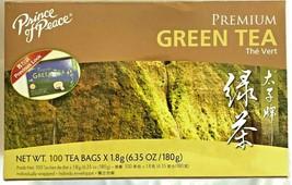 Prince of Peace Premium Green Tea 6.35 Oz/180g - 100 Tea Bags - $10.15