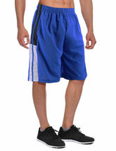 Men's Athletic Mesh Workout Fitness Training Basketball Sports Gym Shorts image 11
