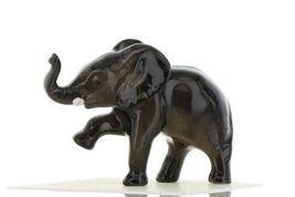 Hagen Renaker Miniature Elephant Walking Baby Ceramic Figurine image 3