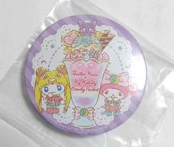 Sailor Moon x My Melody Can Badge Button Moon Usagi Tsukino Accessory An... - $27.71