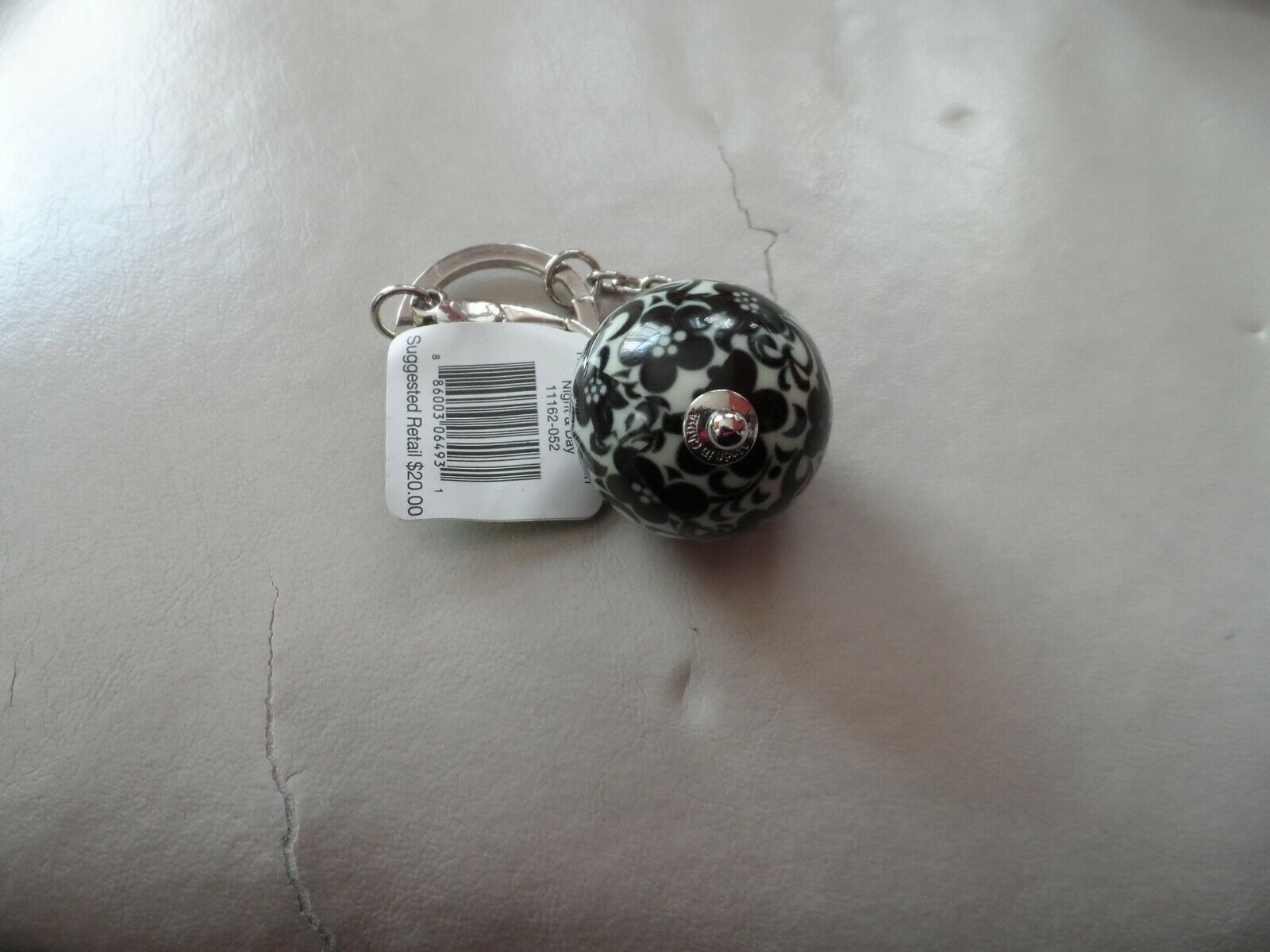 Vera Bradley have a ball keychain Night and Day