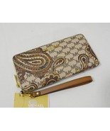 NWT Michael Kors Paisley Jet Set Travel Continental Wallet / Wristlet in... - $149.00